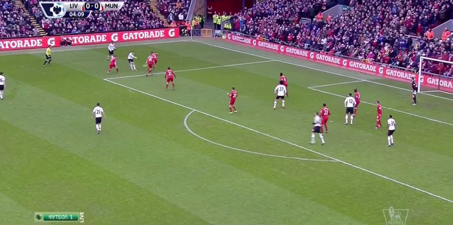 «Ливерпуль» – «Манчестер Юнайтед». Видеообзор матча – 0:1