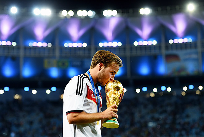 Своим точным ударом Марио Гётце принёс сборной Германии Кубок мира