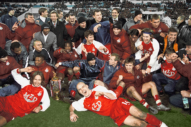 «Локомотив» — чемпион России — 2002!