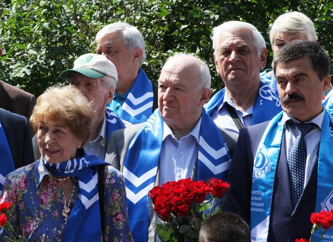 Слева направо: Валентина Яшина, Никита Симонян, Анатолий Долгушев