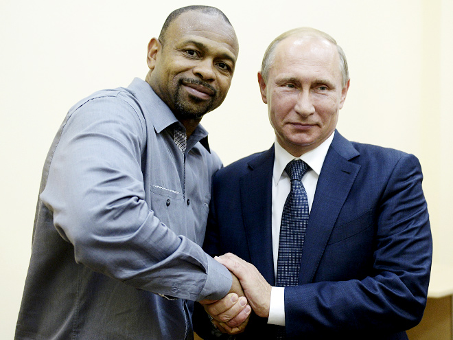 Рой Джонс и Владимир Путин