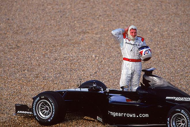 Ферстаппен-старший нередко заканчивал гонки на обочине