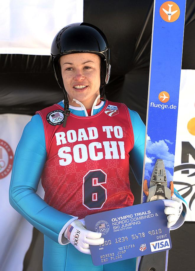 Линдси Вэн — первая чемпионке мира в истории женских прыжков на лыжах с трамплина
