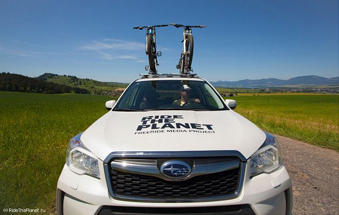 RideThePlanet: �������� � �������