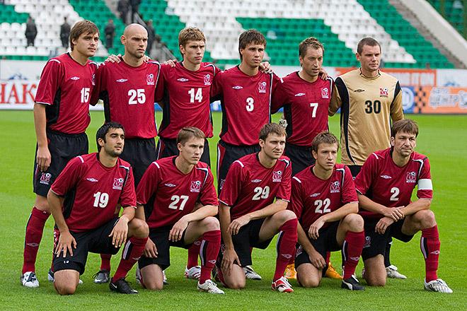 ФК «Москва» перед матчем Кубка УЕФА