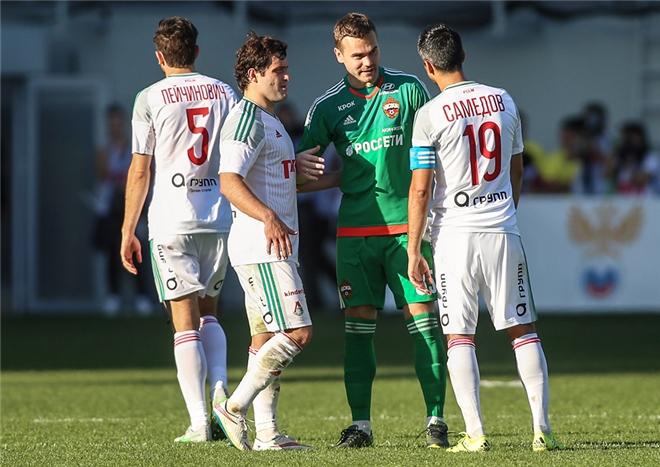 Александр Самедов в матче против ЦСКА