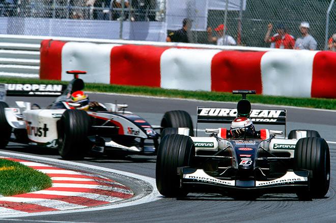 Сезон-2003 стал для Йоса последним в Формуле-1