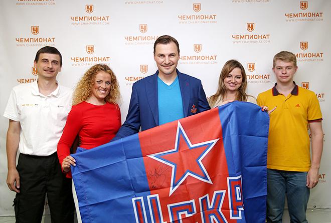 Сергей Фёдоров в редакции «Чемпионата»
