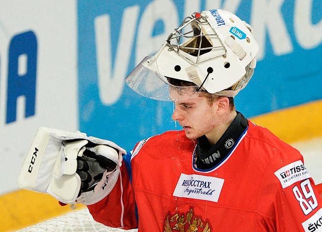 Сорокин — лучший вратарь сборной России на первом этапе Евротура