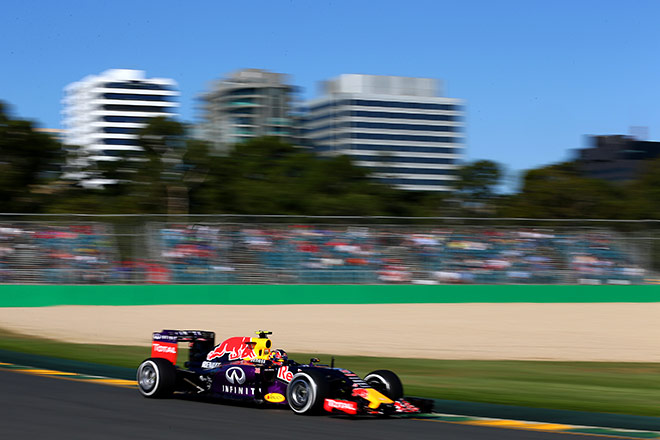 Даниил Квят на Гран-при Австралии
