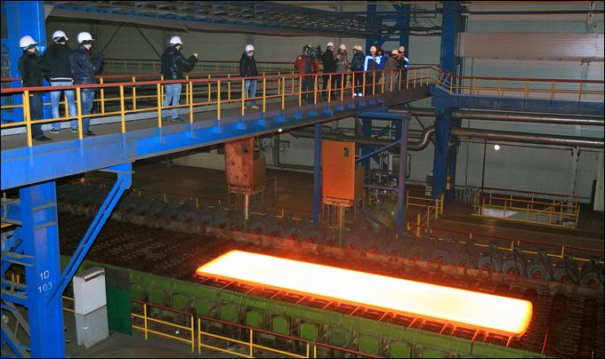 Экскурсия по Магнитогорскому металлургическому комбинату