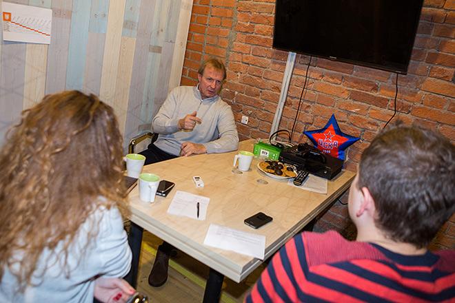 Михаил Васильев в редакции «Чемпионата»