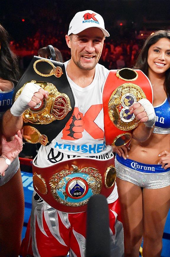 Сергей Ковалёв вписал своё имя в историю мирового профи-бокса