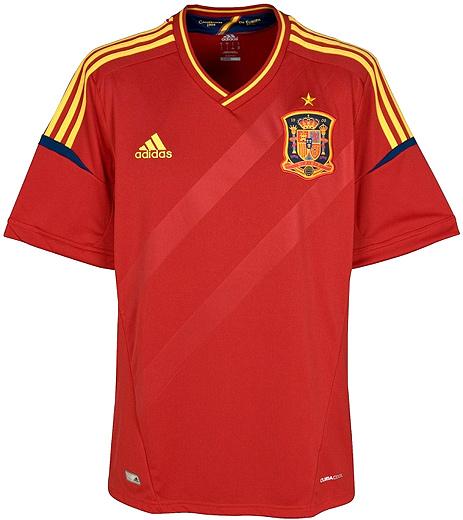 Adidas Футболка сборной Испании по футболу.
