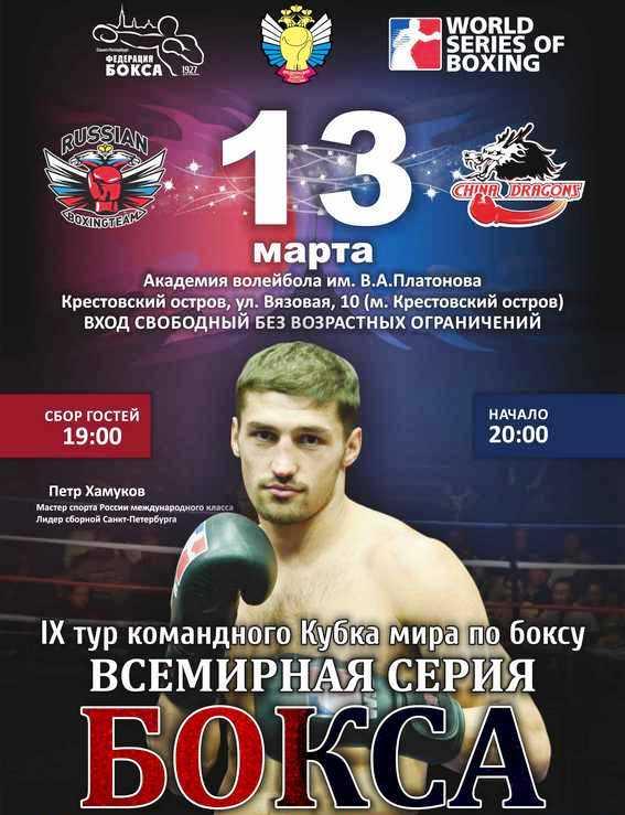 Постер к турниру WSB
