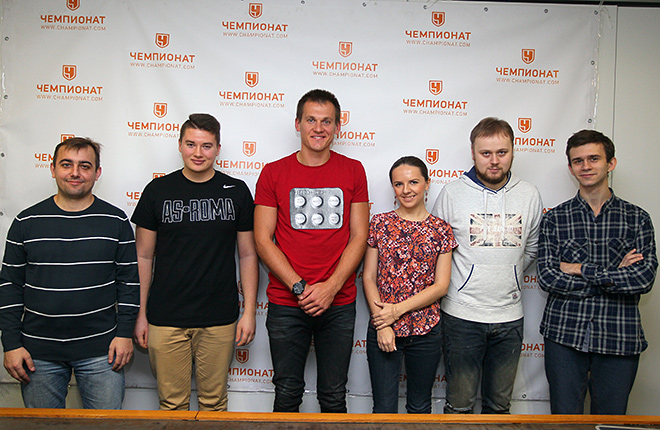 Артём Ребров в редакции «Чемпионата»