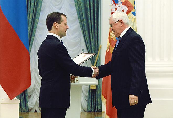 Дмитрий Медведев и Борис Михайлов