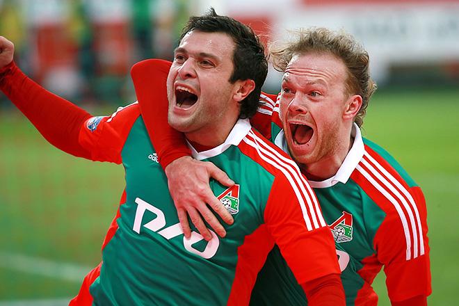 Виталий Денисов с Аланом Касаевым