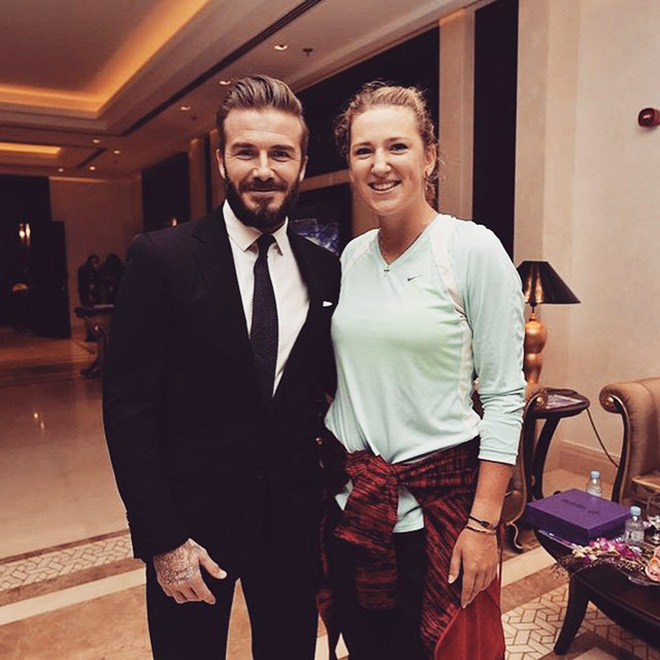 Бекхэм похвалил игру Азаренко в Дохе