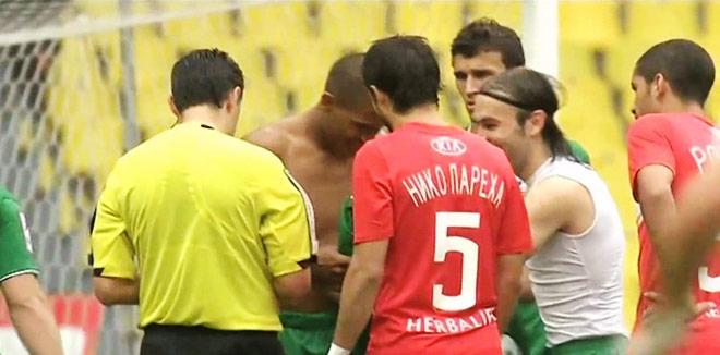 В 2012 году Рондон и Натхо в перерыве матча со «Спартаком» нацепили майки… друг друга