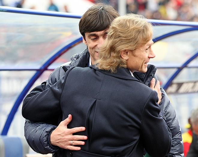 Юрий Ковтун и Валерий Карпин