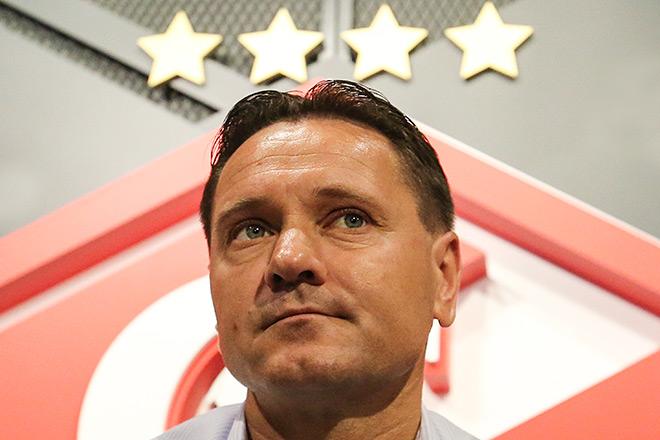Дмитрий Аленичев — главный тренер «Спартака»