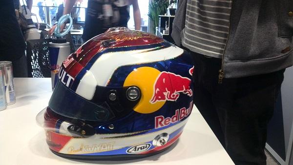Специальный дизайн шлема Даниила Квята