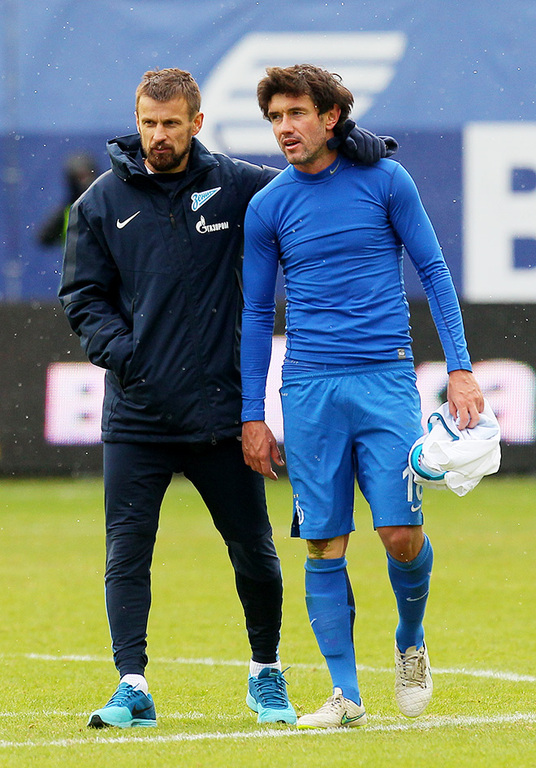 Сергей Семак и Юрий Жирков