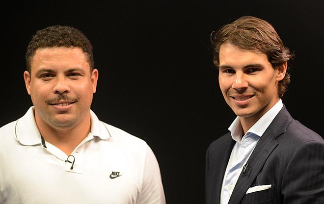 Роналдо и Рафаэль Надаль