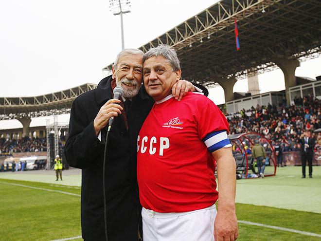 Вахтанг Кикабидзе и Хорен Оганесян