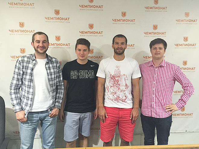 В редакции «Чемпионата»