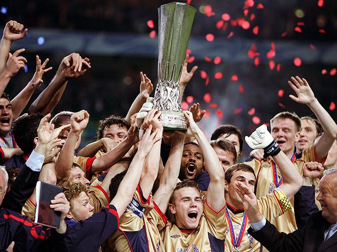 ЦСКА — обладатель Кубка УЕФА