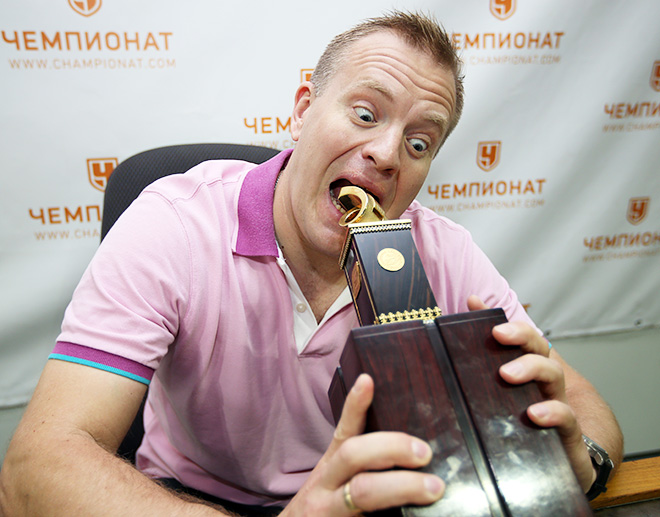 Алексей Анисимов в гостях у «Чемпионата»