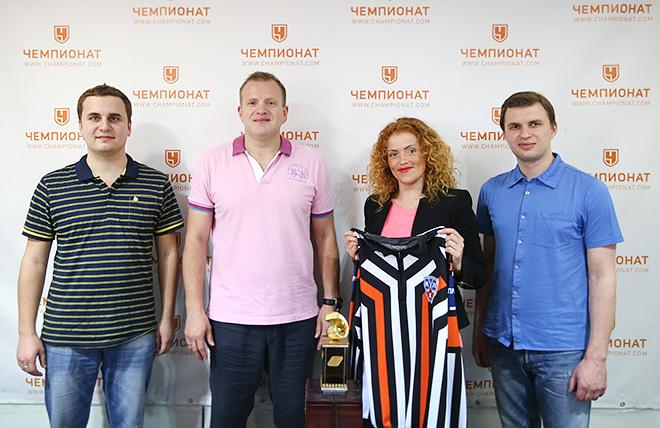 Алексей Анисимов и журналисты «Чемпионата»