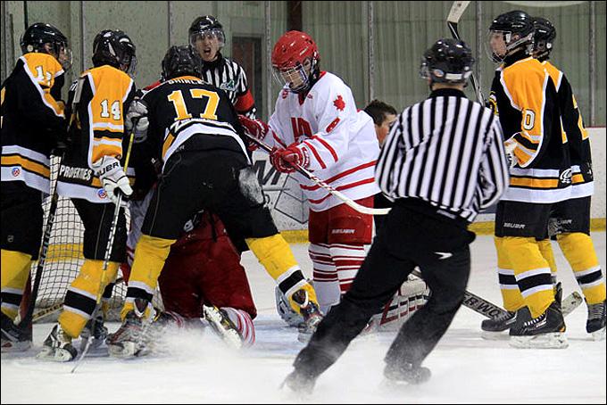 Канадский детский хоккей