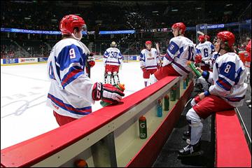Скамейка сборной России