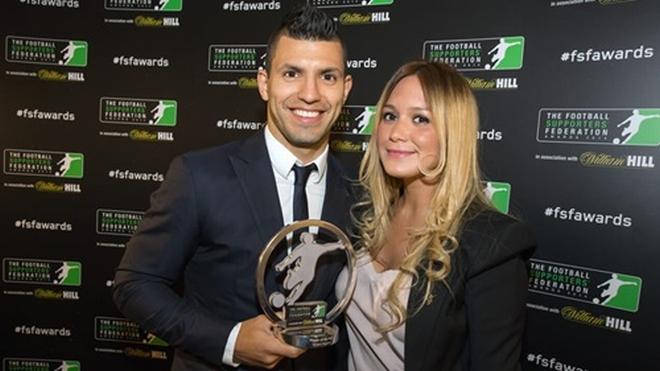 Агуэро — лучший игрок Премьер-лиги 2014 года по версии болельщиков (Фото: mcfc.co.uk)