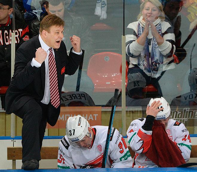 «Возмутившись тем, что бьют его игроков, финн решил разобраться с Юрием Леоновым»