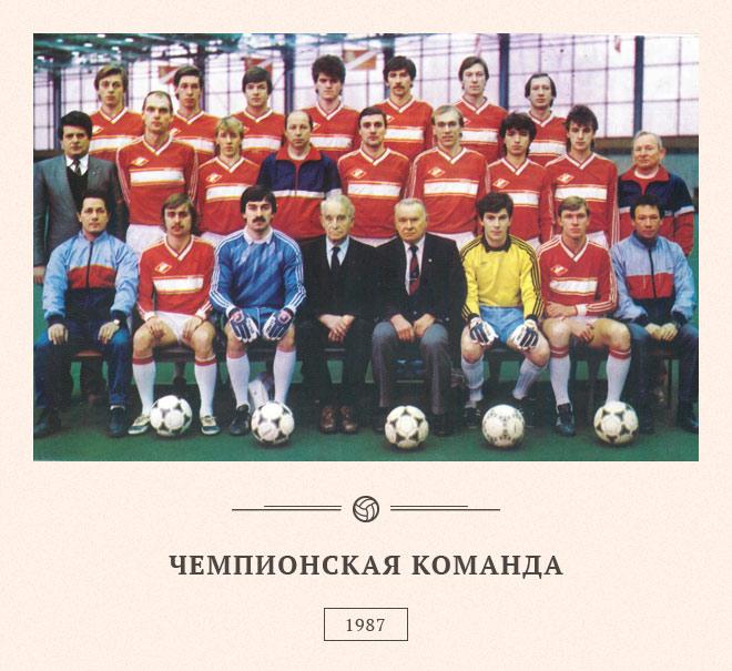 """Сергей Родионов. ФК """"Спартак"""" Москва 1987 год"""