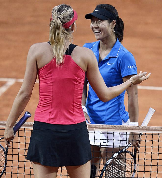 Мария Шарапова и Ли На