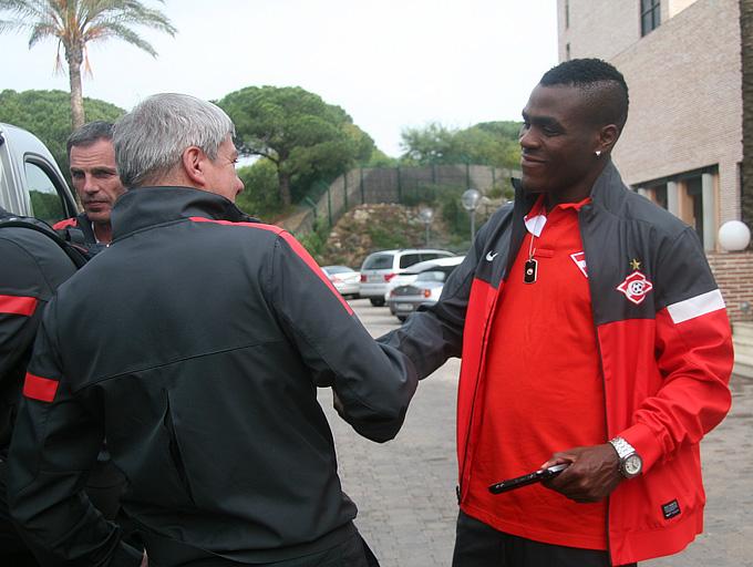 Эменике присоединился к «Спартаку» в Испании