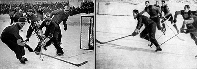 Нашему хоккею - 65 лет: Однажды, перед Новым годом…