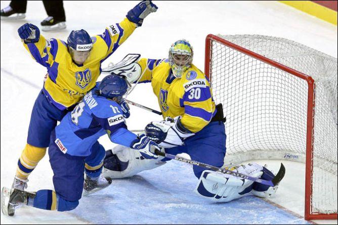 Есть первая победа сборной россии!