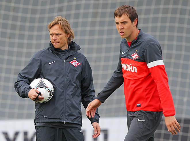 Валерий Карпин и Артём Дзюба