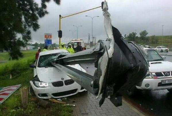 Фото с места аварии Руи Махамутса