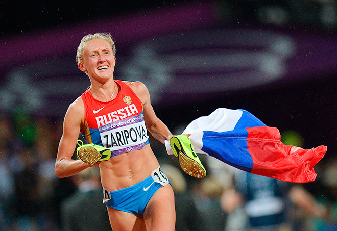 Чемпионка мира и Олимпийских игр в беге на 3000 метров с препятствиями Юлия Зарипова