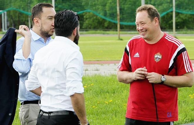 Марко Трабукки, Дженнаро Гаттузо и Леонид Слуцкий