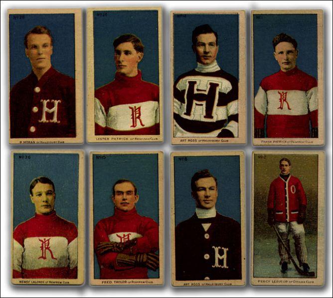 Хоккейные карточки. Фото 02.