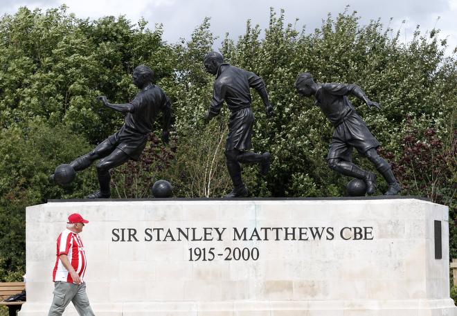 Памятник Стэнли Мэтьюзу