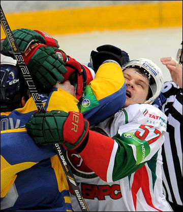 19 января 2014 года. Мытищи. Регулярный чемпионат КХЛ.